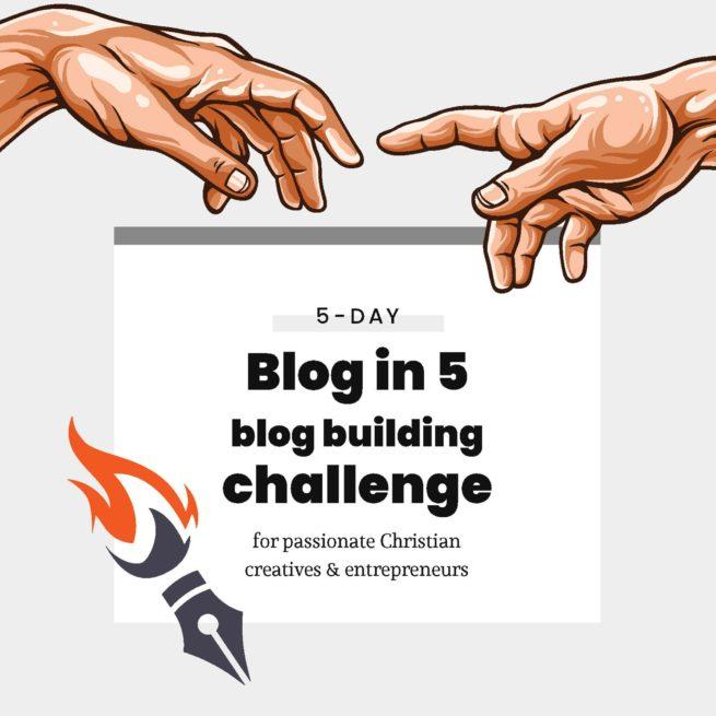 Blog In 5 Challenge